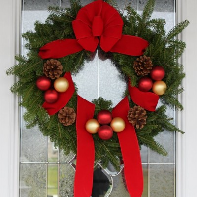 Maine Balsam Fir Christmas Wreath