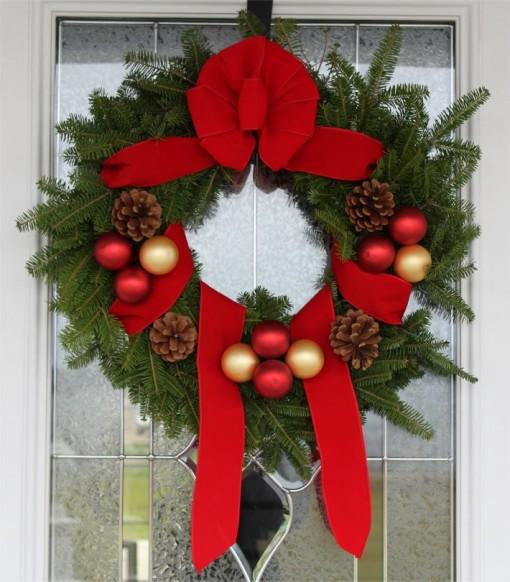 Maine Balsam Fir Christmas Wreath